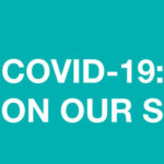 Website Header image, text COVID-19 Update On Our Services